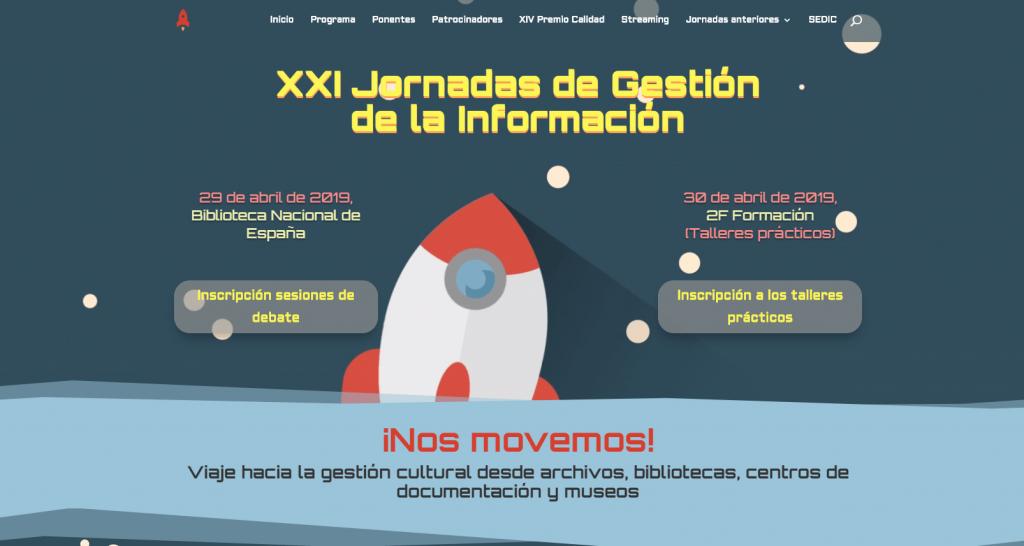 XXI Jornada de Gestión de la Información