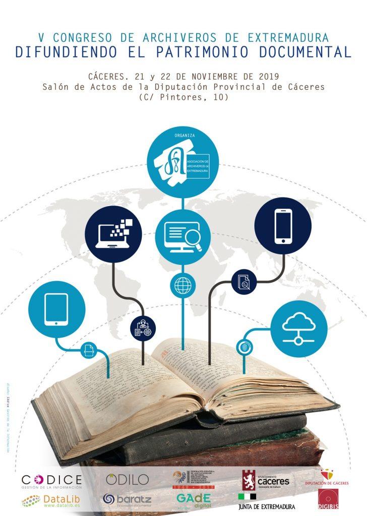 V Congreso de Archiveros de Extremadura