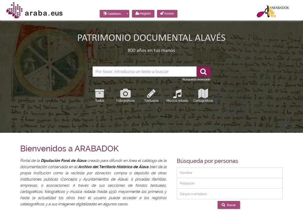 Arabadok - ATHA - Patrimonio Documental Alavés