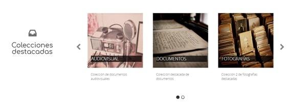Colecciones en MediaSearch 2.2