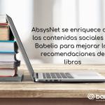 AbsysNet se enriquece con los contenidos sociales de Babelio para mejorar las recomendaciones de libros