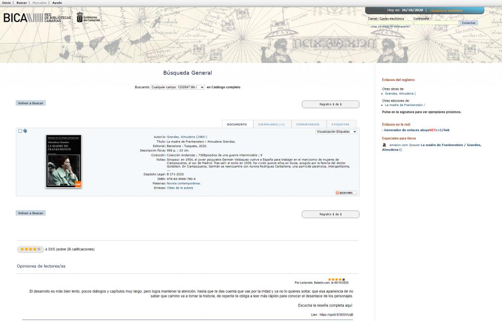Servicio de contenidos sociales de Babelio para bibliotecas AbysNet