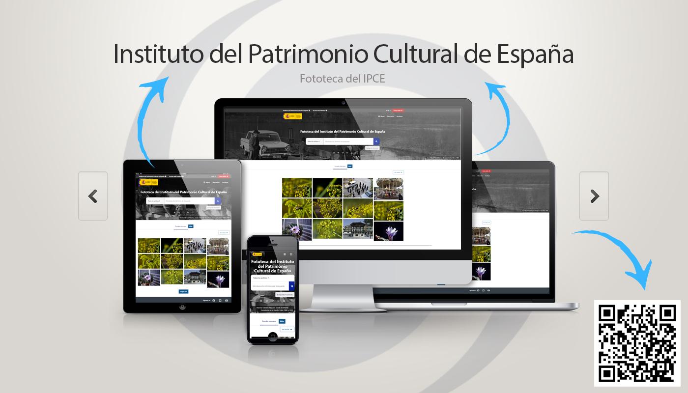 Fototeca del IPCE multidispositivo