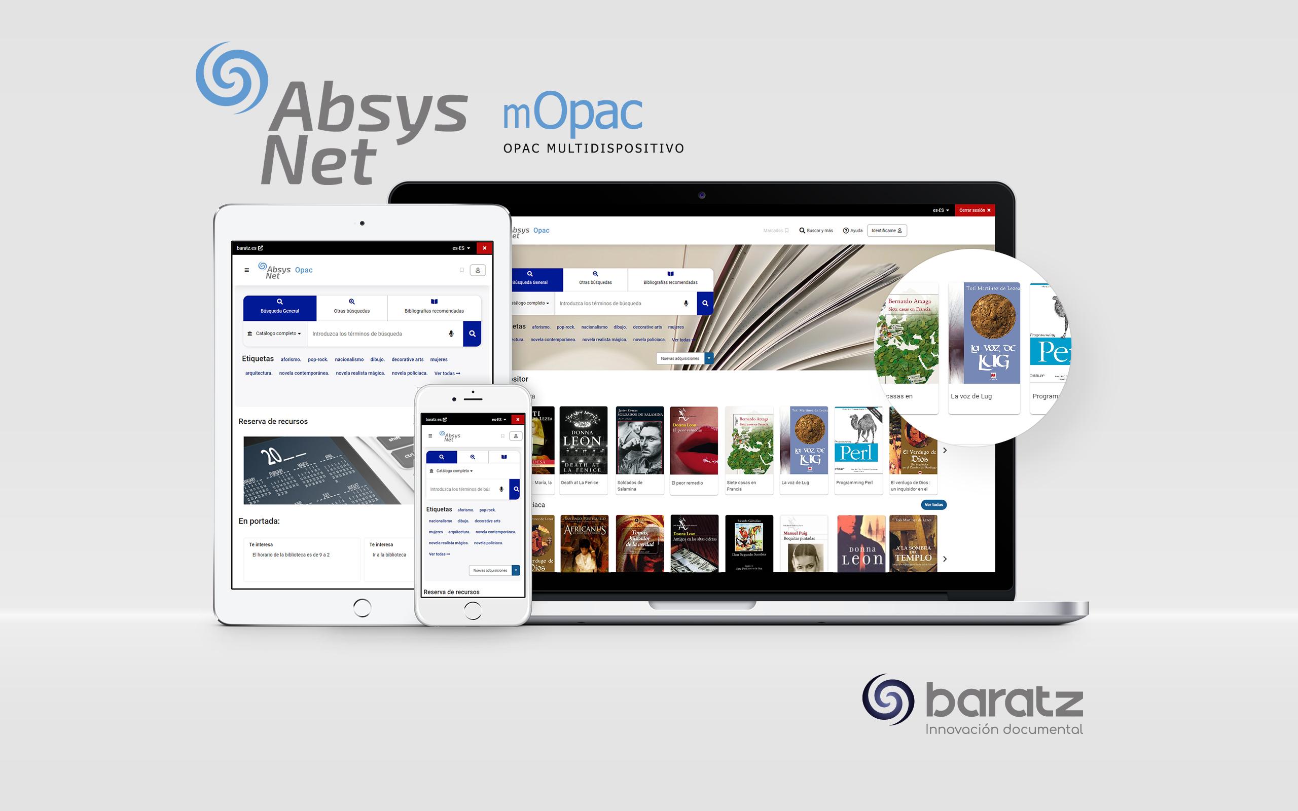 AbsysNet 2.3 y el opac multidispositivo