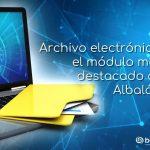 Módulo archivo electrónico Albalá